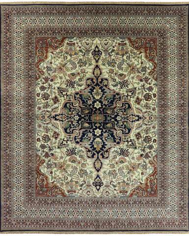 Fine Serapi Oriental Hand Knotted Area Rug - 13' X 15' 7