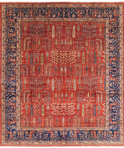 Persian Ziegler Hand Knotted Area Rug - 8' 4