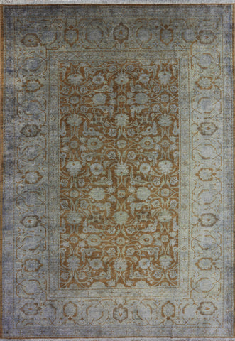 12 X 18 Traditional Overdyed Area Rug