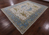"Oushak Hand Knotted Wool Area Rug - 9' 2"" X 11' 10"" - Golden Nile"