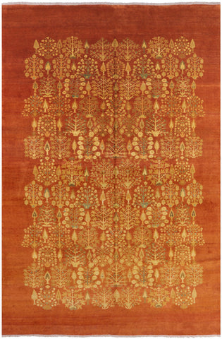 Persian Ziegler Hand Knotted Wool Area Rug - 12' X 17' 9