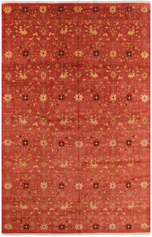 All Over Peshawar Oriental Wool Area Rug - 12' X 18' 2