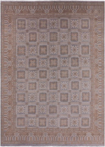 Traditional Hand Knotted Rug - 9' 9