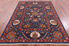 "William Morris Hand Knotted Wool Rug - 5' 8"" X 7' 10"" - Golden Nile"