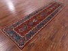 "Persian Fine Serapi Handmade Wool Runner Rug - 2' 8"" X 9' 9"" - Golden Nile"