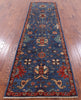 "Persian Fine Serapi Hand Knotted Wool Runner Rug - 2' 9"" X 9' 10"" - Golden Nile"