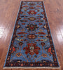 "Persian Fine Serapi Handmade Wool Runner Rug - 2' 8"" X 7' 10"" - Golden Nile"