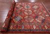 "Turkmen Ersari Handmade Wool Rug - 5' 7"" X 7' 10"" - Golden Nile"