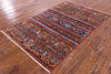 "Khorjin Persian Gabbeh Hand Knotted Wool Rug - 3' 10"" X 6' - Golden Nile"