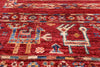 "Tribal Persian Gabbeh Handmade Wool Rug - 5' 10"" X 8' 10"" - Golden Nile"