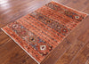 "Khorjin Persian Gabbeh Hand Knotted Wool Rug - 2' 9"" X 4' - Golden Nile"