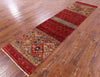 "Khorjin Persian Gabbeh Hand Knotted Wool Runner Rug - 2' 5"" X 9' 6"" - Golden Nile"