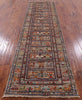 "Tribal Persian Gabbeh Handmade Wool Runner Rug - 2' 9"" X 9' 11"" - Golden Nile"