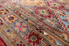 "Khorjin Persian Gabbeh Hand Knotted Wool Runner Rug - 2' 8"" X 8' 1"" - Golden Nile"