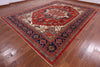 "Fine Serapi Hand Knotted Wool Rug - 9' 10"" X 13' 5"" - Golden Nile"