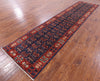 "Persian Fine Serapi Hand Knotted Wool Runner Rug - 3' 1"" X 13' 7"" - Golden Nile"