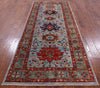 "Persian Fine Serapi Handmade Wool Runner Rug - 4' X 9' 8"" - Golden Nile"