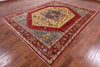 "Persian Fine Serapi Hand Knotted Wool Rug - 8' 2"" X 10' 1"" - Golden Nile"