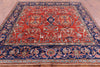 "Square Persian Fine Serapi Handmade Wool Rug - 8' 1"" X 8' 1"" - Golden Nile"
