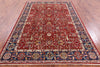 "Persian Fine Serapi Hand Knotted Wool Rug - 5' 10"" X 8' 8"" - Golden Nile"