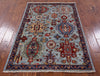"Persian Fine Serapi Handmade Wool Rug - 3' 5"" X 5' 1"" - Golden Nile"