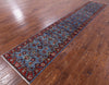 "Persian Fine Serapi Handmade Wool Runner Rug - 2' 7"" X 13' 6"" - Golden Nile"