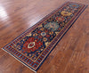 "Persian Fine Serapi Handmade Wool Runner Rug - 2' 8"" X 10' 5"" - Golden Nile"