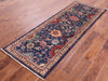 "Persian Fine Serapi Hand Knotted Wool Runner Rug - 2' 4"" X 6' 7"" - Golden Nile"