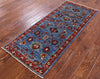 "Persian Fine Serapi Handmade Wool Rug - 2' 1"" X 5' - Golden Nile"