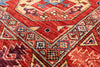 "Turkmen Ersari Handmade Wool Rug - 4' 8"" X 6' 11"" - Golden Nile"