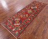 "Turkmen Ersari Handmade Wool Runner Rug - 2' 9"" X 8' 4"" - Golden Nile"