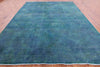 "Persian Overdyed Hand Knotted Wool Rug - 9' 8"" X 12' 6"" - Golden Nile"