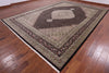 "Bijar Hand Knotted Wool & Silk Rug - 10' 2"" X 14' 4"" - Golden Nile"