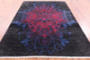"William Morris Hand Knotted Wool Rug - 6' 4"" X 8' 10"" - Golden Nile"