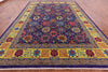 "Persian Tabriz Hand Knotted Wool Rug - 9' 10"" X 13' 9"" - Golden Nile"