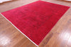 "Full Pile Overdyed Hand Knotted Wool Rug - 8' 10"" X 11' 8"" - Golden Nile"