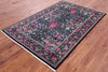 "William Morris Handmade Wool Rug - 4' 8"" X 7' 1"" - Golden Nile"