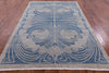 "William Morris Handmade Wool Rug - 6' 2"" X 8' 10"" - Golden Nile"