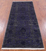 "William Morris Handmade Wool Runner Rug - 2' 8"" X 6' 5"" - Golden Nile"