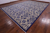 "William Morris Hand Knotted Wool Rug - 12' 1"" X 17' 5"" - Golden Nile"