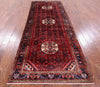 New Persian Hamadan 4 X 10 Runner Rug -  Golden Nile