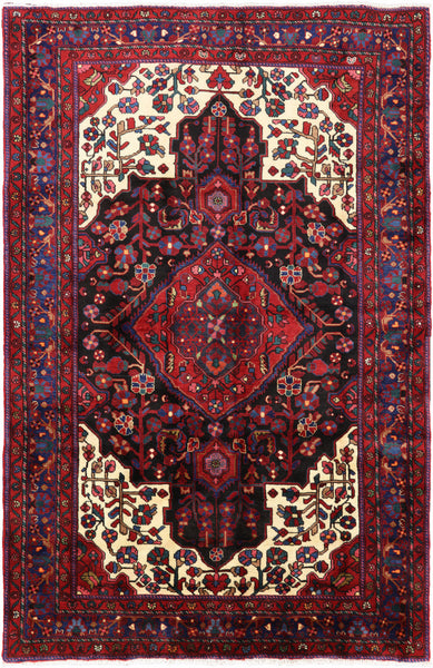 "New 5' 3"" X 8' 0"" Persian Hamadan Area Rug -  Golden Nile"