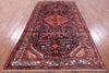 "Authentic 5' 6"" X 10' 7"" Persian Nahavand Hand Knotted Area Rug - Golden Nile"