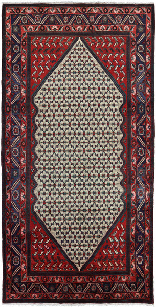 "New Authentic Persian Hamadan Tribal 5' 1"" X 10' 0"" Handmade Area Rug -  Golden Nile"
