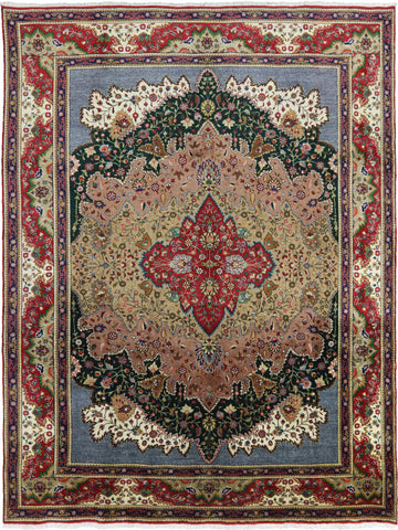 New Authentic Persian Tabriz Handmade Area Rug 10 X 13