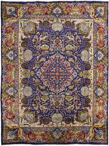 New Authentic Persian Kashmar Area Rug 9' 6