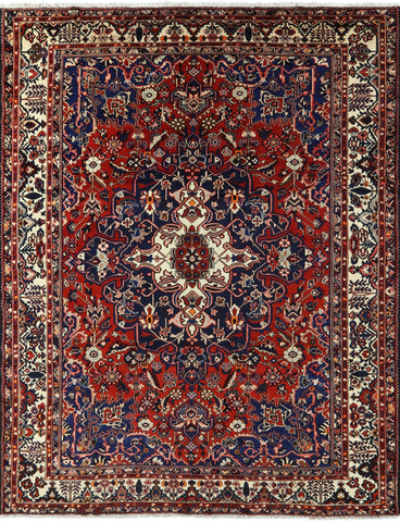 Isfahan Authentic Persian Hand Knotted Area Rug - 10' 4