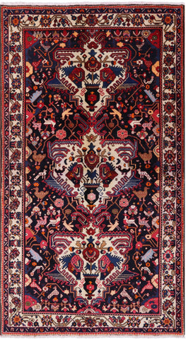 6 X 10 Authentic Persian Handmade Rug