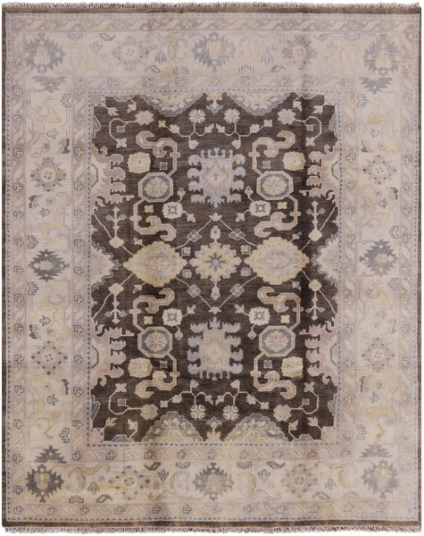 8 X 10 Brown/Ivory Rug - Golden Nile
