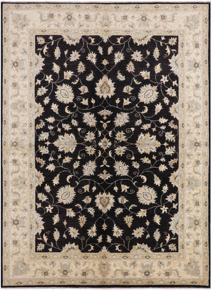 "Peshawar Hand Knotted Area Rug - 5' 10"" X 7' 10"" - Golden Nile"